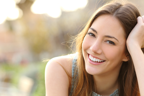 Woman Excited To Find Dental Plan
