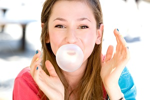 sugarfree gum-chewing may not create need for dental insurance plan